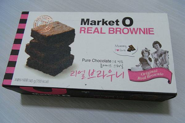 Market O - 布朗尼蛋糕 - ₩4130