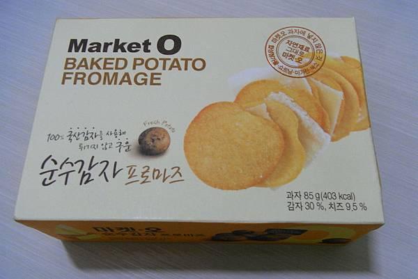 Market O - 馬鈴薯脆片 - ₩2000