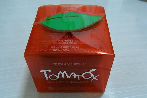 TONYMOLY - 蕃茄煥采亮白面膜 - ₩9800