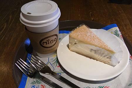 migo & bread - 早餐組合(蛋糕&茶) - ₩5900