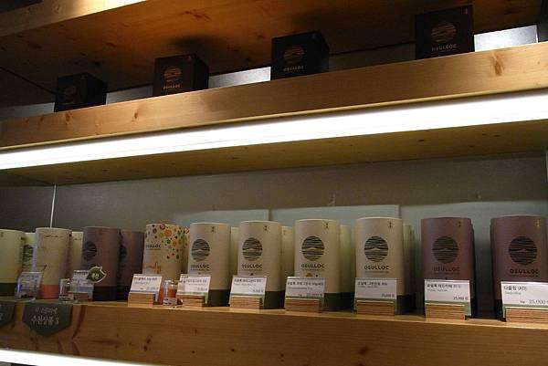 O'sulloc Tea House - 茶品