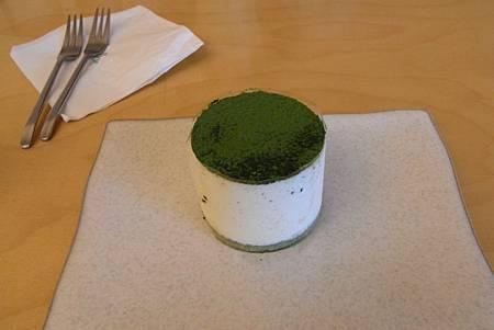 O'sulloc Tea House - Green tea cheese Tiramisu - ₩4500 (₩5000打9折)