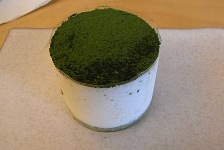 O'sulloc Tea House - Green tea cheese Tiramisu