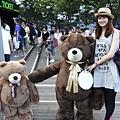 首爾塔 - 泰迪熊玩偶