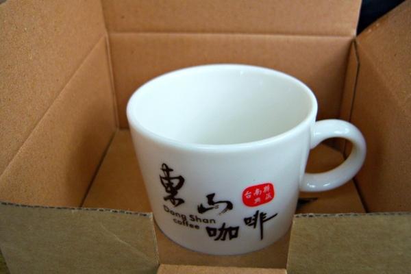 喝咖啡送你咖啡杯 (據說是台南縣政府的idea)