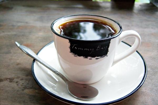 熱咖啡也好香醇