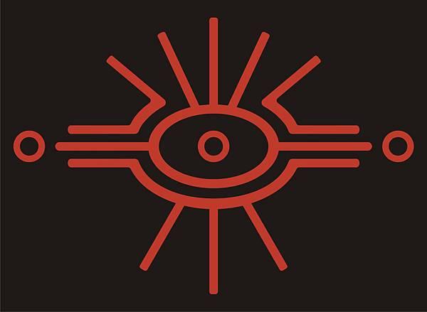 巴黎鄉巴佬 原創圖案 - 符號 Alien Eye