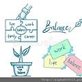 工作生活平衡模板集合-108232242.jpg
