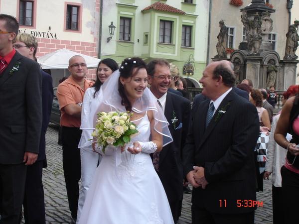 新娘子現身!