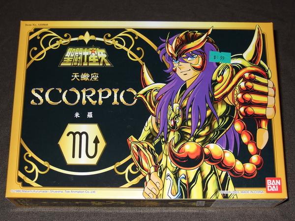 聖衣大系天蠍座黃金聖鬥士Scorpio Milo3783.JPG