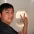第一次坐國際線飛機紀念