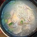 到韓國的第一餐...人蔘雞
