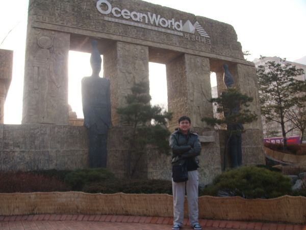Ocean World像墾丁的水世界