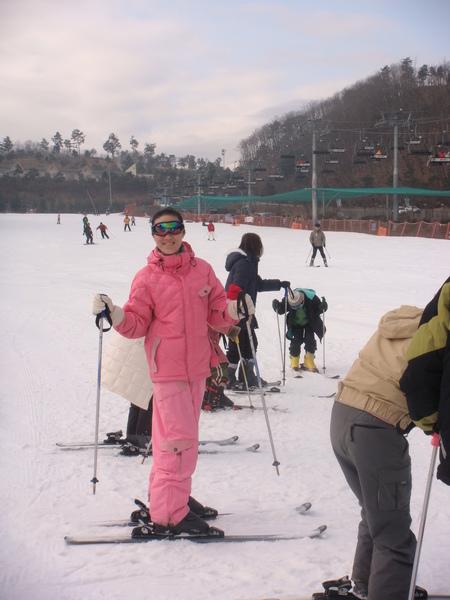 開始滑雪教學