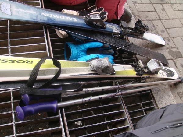 雪橇+雪杖