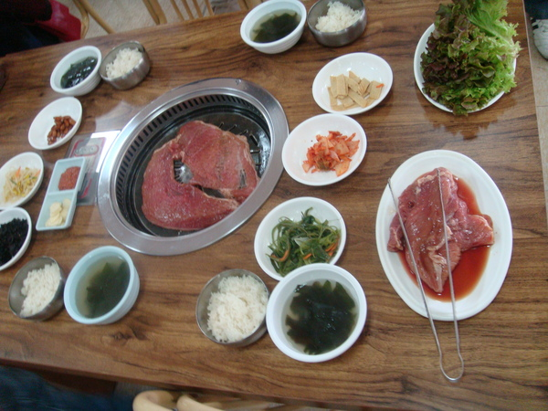 自費中餐-烤大片豬肉