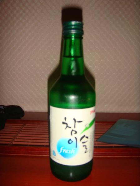 一點都不好喝的韓國真露酒