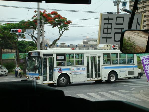 沖繩的公車好像比台北的舊