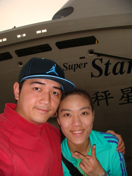 下船囉,又回台灣了,天秤星號拜拜~