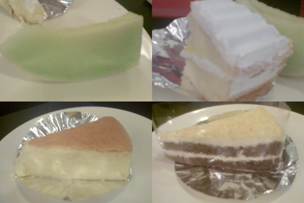 哈蜜瓜+蛋糕