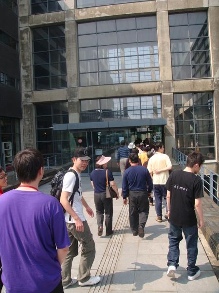 博物館門口