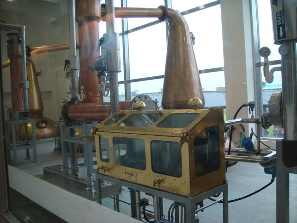製作過程之蒸餾