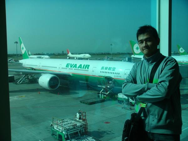 這台就是我們要去泰國的飛機
