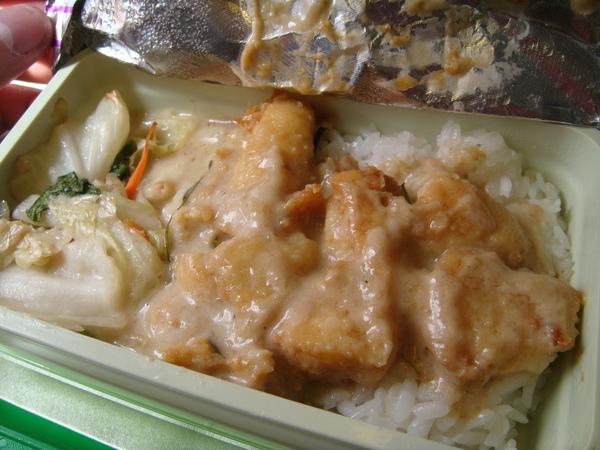 飛機餐-魚肉