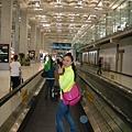 曼谷機場的快速走道