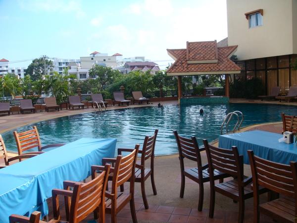 飯店裡的泳池