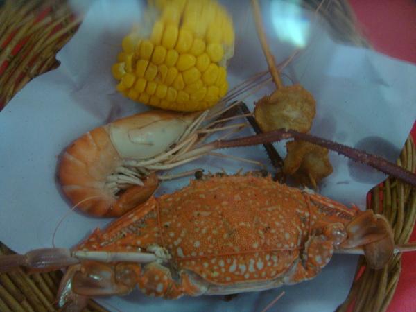 午餐又有花蟹了
