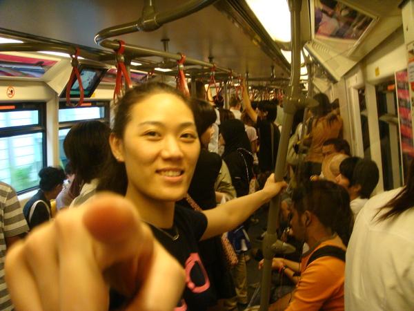 曼谷的捷運也超穩的喔