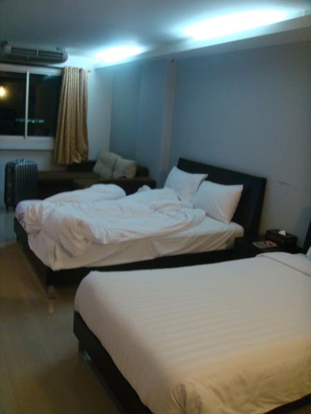 房間很大很舒服