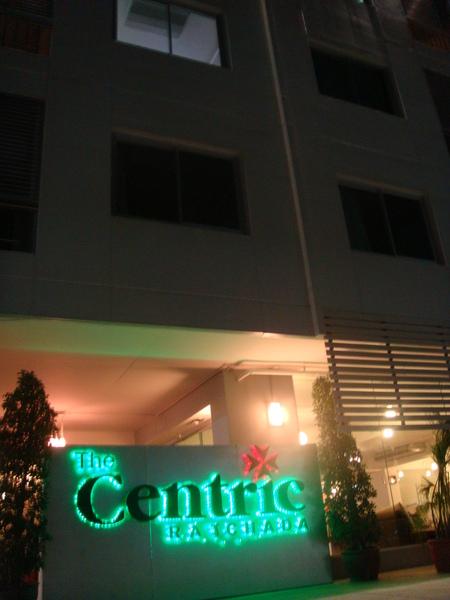 最後一晚住的飯店