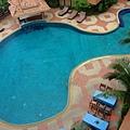 飯店泳池的空拍~
