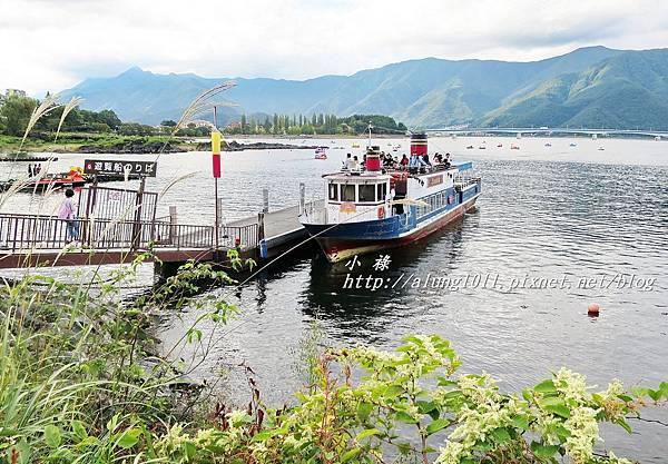 河口湖遊船 (10).JPG