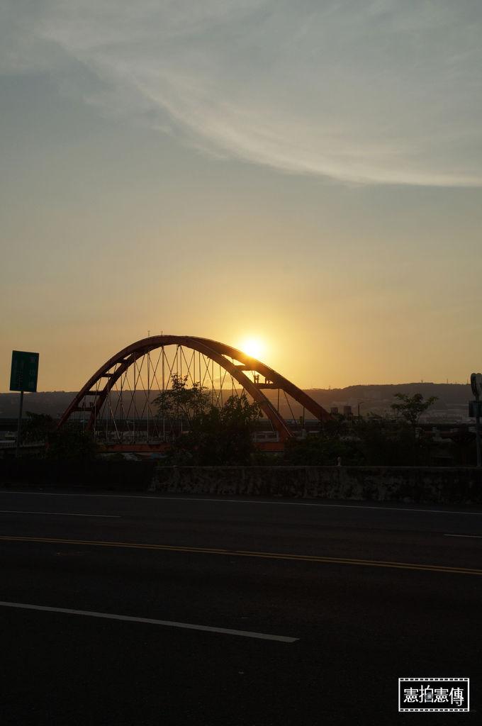 日落綠美橋