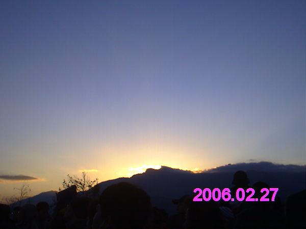 太陽要出來了