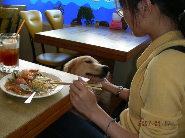 到民宿的餐廳了~~先吃中飯