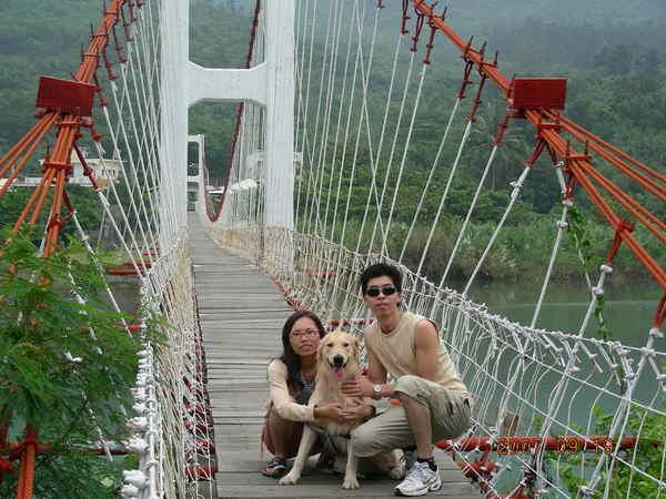 茶山吊橋大合照