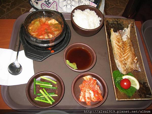 韓國料理-魚套餐.JPG