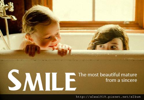 最美的成熟,來自真心的微笑