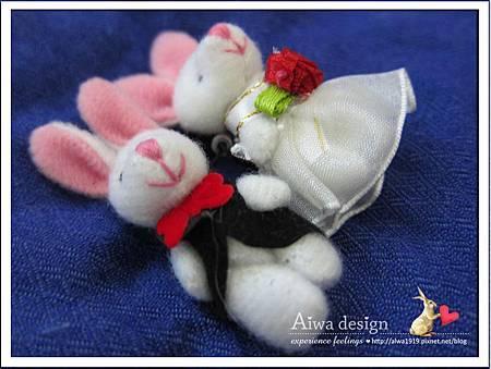 20121220-Aiwa 婚禮小物【超可愛夫妻兔】02