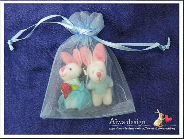 20121220-Aiwa 婚禮小物【超可愛夫妻兔】03