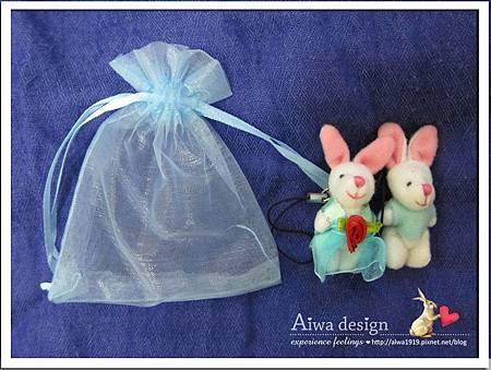 20121220-Aiwa 婚禮小物【超可愛夫妻兔】04