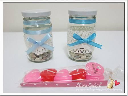 20130222-Aiwa 婚禮的果醬燭台DIY-01