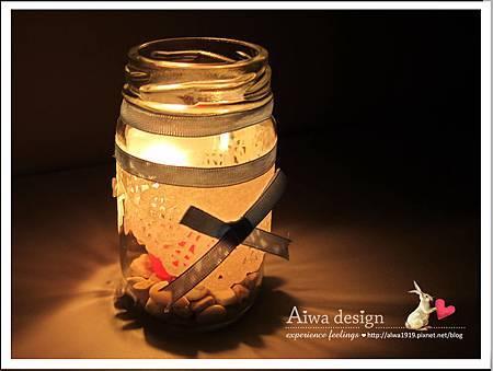 20130222-Aiwa 婚禮的果醬燭台DIY-10