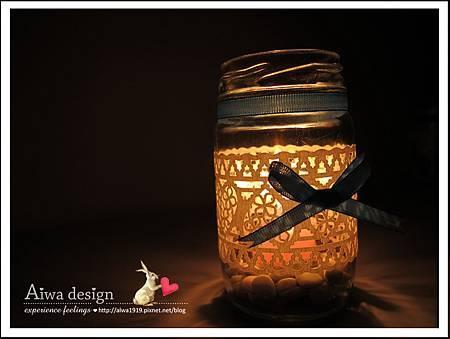 20130222-Aiwa 婚禮的果醬燭台DIY-11