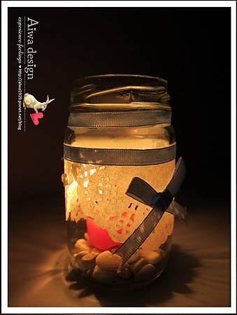 20130222-Aiwa 婚禮的果醬燭台DIY-12