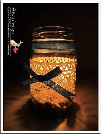 20130222-Aiwa 婚禮的果醬燭台DIY-13